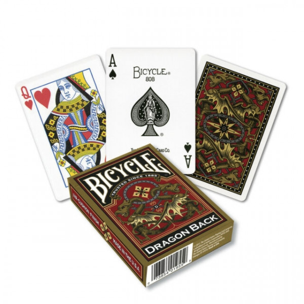 Bicycle Playing Cards - Dragon Back