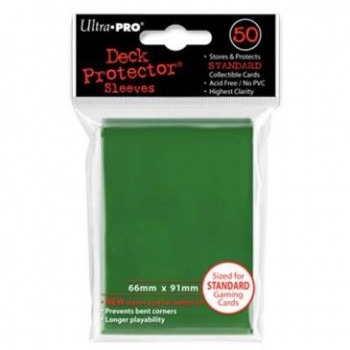 Solid Green Protector (50)