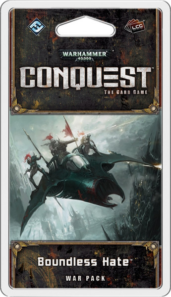 Warhammer 40,000 Conquest:The Card Game - Planetfall 2: Boundless Hate War Pack