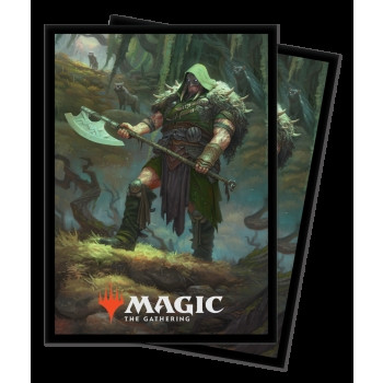 Deck Protector Sleeves - Magic the Gathering: The Gathering Throne of Eldraine V3 (100)
