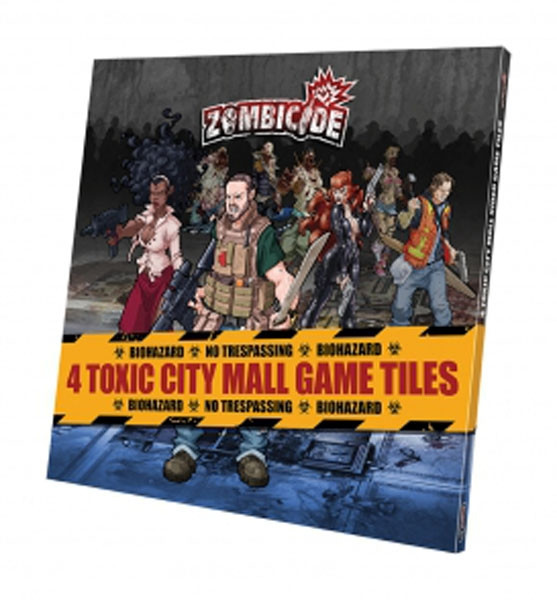 Zombicide - 4 Toxic City Mall Game Tiles