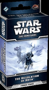 Star Wars: The Card Game - Hoth 1: The Desolation of Hoth Force Pack