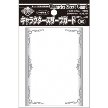 KMC Standard Sleeves - Character Guard Clear with Florals (60)