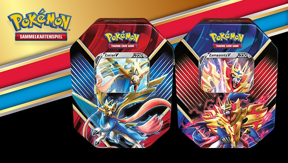 Pokémon: Galar-Legenden: Zamazenta - Tin Box