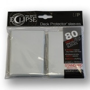 Deck Protector Sleeves - Pro-Matte Eclipse (80), white
