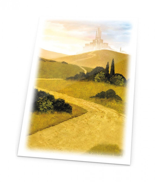 Printed Sleeves - Lands Edition: Plains (80)