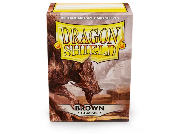 Dragon Shield - Card Sleeves: Classic Brown, Standard Size (100)