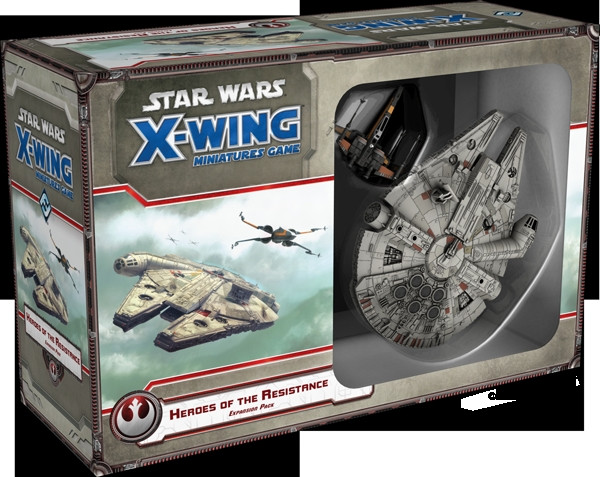 Star Wars: X-Wing - Expansion Pack: Heroes of the Resistance