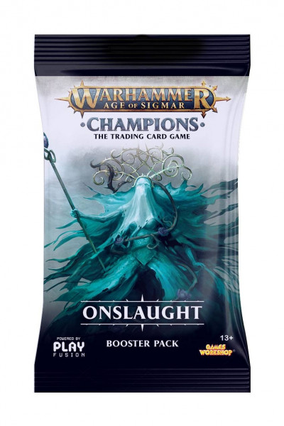 Warhammer Age of Sigmar: Champions - Booster: Wave 2 - Onslaught