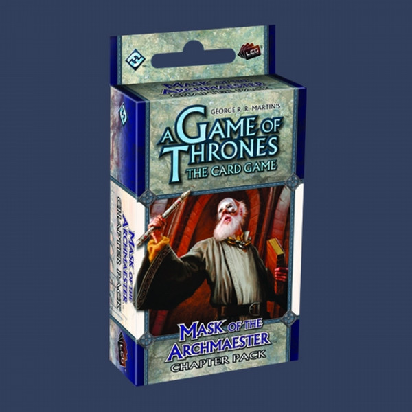 A Game of Thrones: The Card Game - Secrets of Oldtown 5: Mask of the Archmaester Chapter Pack