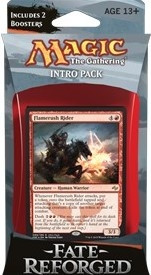 MTG - Intro Pack, Fate Reforged: Stampeding Hordes (whitered)