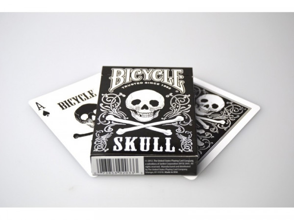 Bicycle Playing Cards - Skull