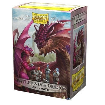 Dragon Shield - Art Sleeves - Father's Day Dragon - Standard Size (Matte) (100)