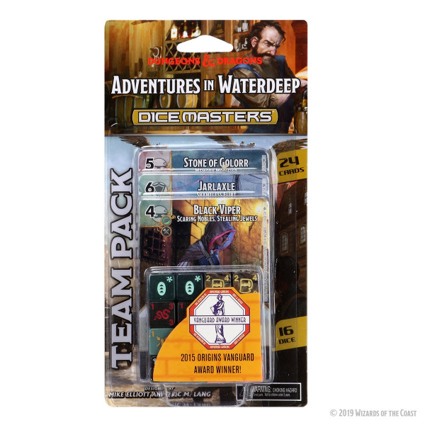 Dice Masters: Dungeons & Dragons - Team Pack: Adventures in Waterdeep