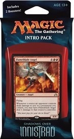 MTG - Intro Pack, Shadows over Innistrad: Angelic Fury (whitered)