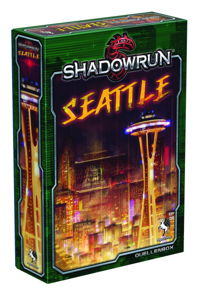 Shadowrun 5 - Quellenbox: Seattle