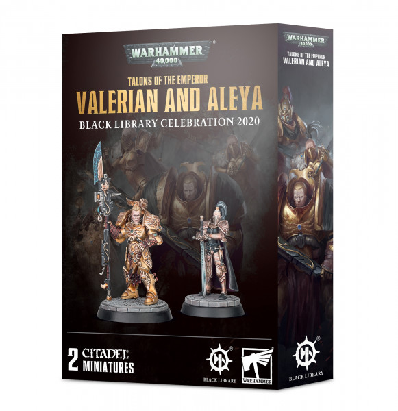 Warhammer 40,000 - Talons of the Emperor: Valerian and Aleya - Black Library Celebration 2020
