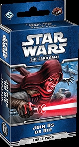 Star Wars: The Card Game - Echoes of the Force 4: Join us or die Force Pack