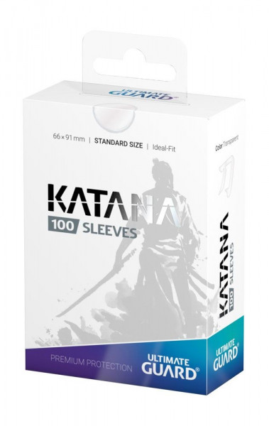 Katana Sleeves - 66x91 mm (100), transparent