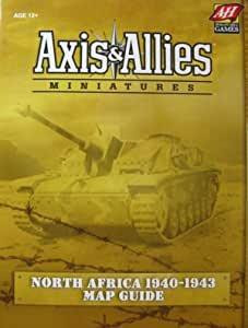 Axis & Allies - Miniatures: North Africa 1940-1943 Map Guide