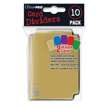 Card Dividers (10)
