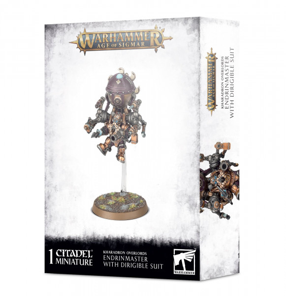 Warhammer Age of Sigmar - Kharadron Endrinmaster With Dirigible Suit