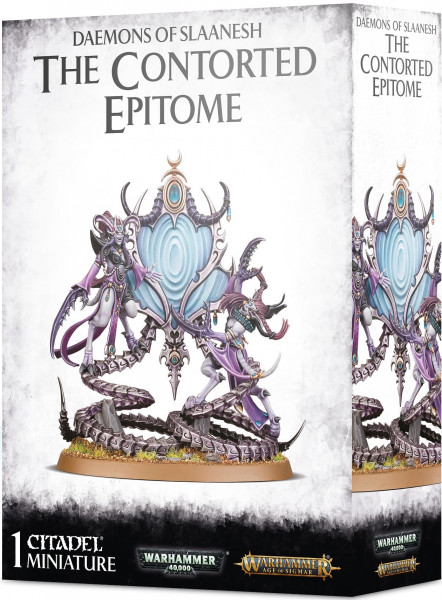 Warhammer 40,000/Warhammer: Age of Sigmar - Daemons of Slaanesh: The Contorted Epitome