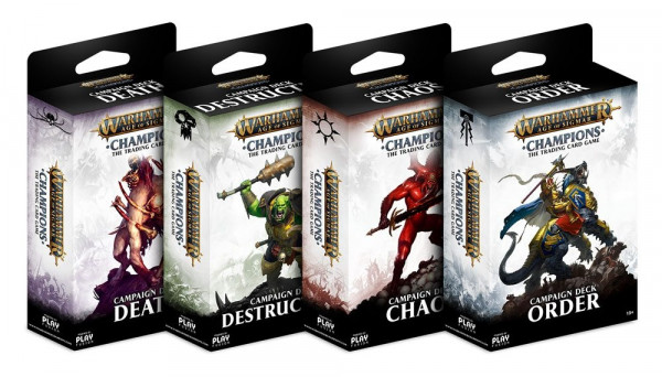 Warhammer Age of Sigmar: Champions - Kampagnen-Deck: Chaos