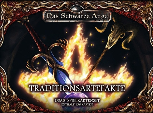 DSA 5 - Spielkartenset: Traditionsartefakte