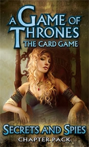 A Game of Thrones: The Card Game - King's Landing 5: Secrets and Spies Chapter Pack