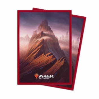 Deck Protector Sleeves - Magic the Gathering: Unstable Lands Mountain (100)