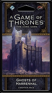 A Game of Thrones: The Card Game - War of Five Kings 5: Ghosts of Harrenhal Chapter Pack