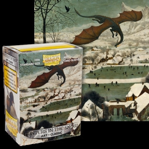 Dragon Shield - Art Sleeves: Hunters in the Snow, Standard Size (100)