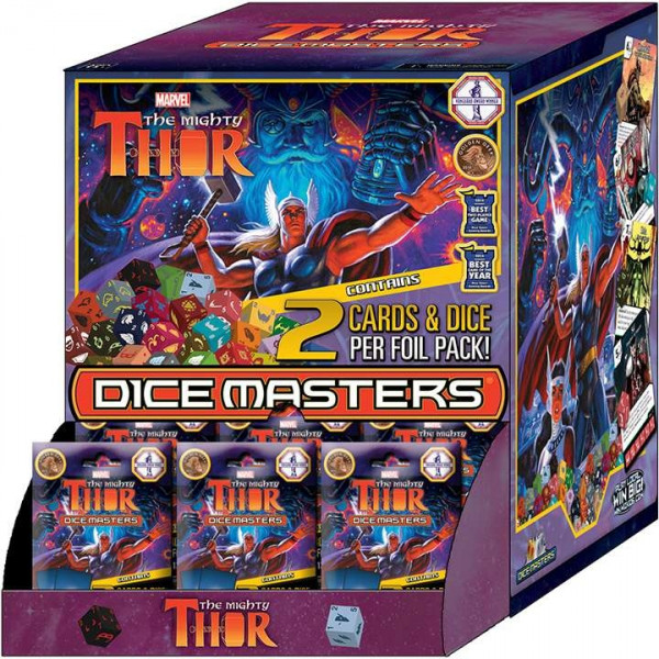 Dice Masters: Marvel - Gravity Feed (Display): The Mighty Thor