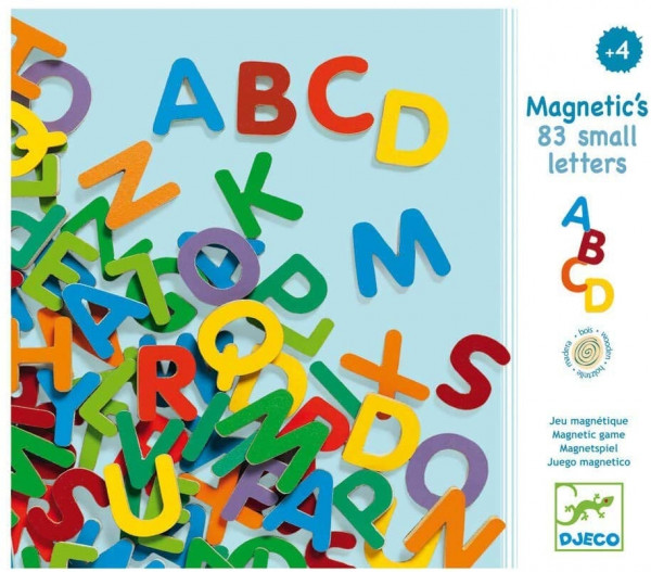 Magnetspiel - Magnetic's 83 small letters