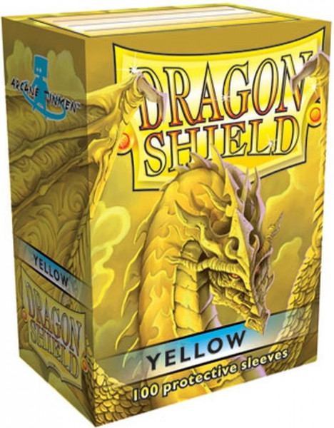Dragon Shield - Card Sleeves: Classic Yellow, Standard Size (100)