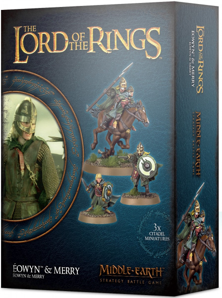 The Lord of the Rings: Middle-Earth Strategy Battle Game - Éowyn & Merry