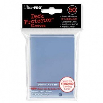 Deck Protector Sleeves - Clear (50)