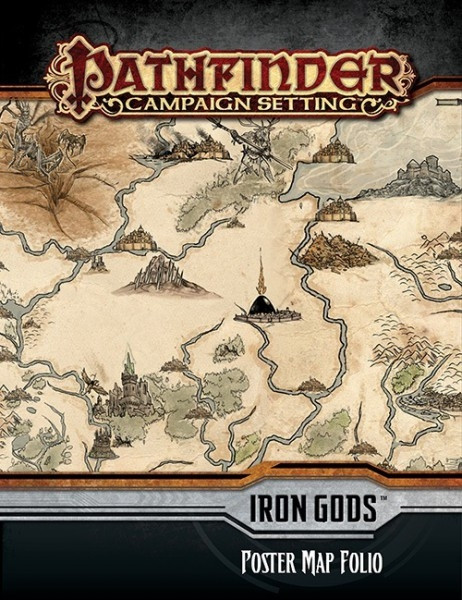 Pathfinder - Campaign Setting: Giantslayer, Poster Map Folio