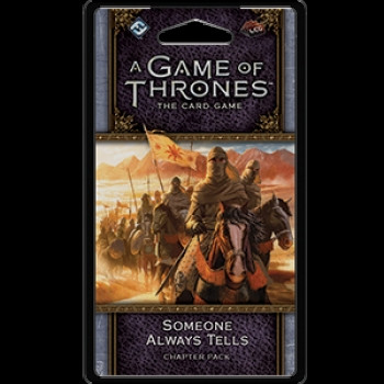 A Game of Thrones: The Card Game - Flight of Crows 6: Some one Always Tells Chapter Pack