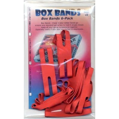 Box Bands 6-pack, Red