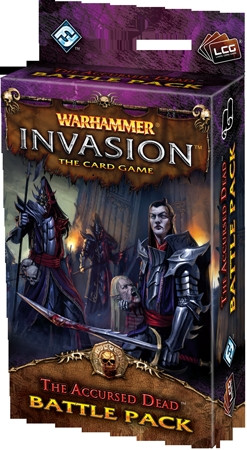 Warhammer Invasion: The Card Game - The Bloodquest 3: The Accursed Dead Battle Pack