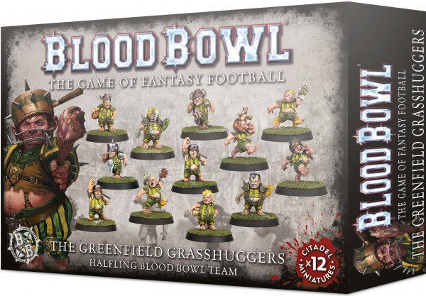 Blood Bowl - Halfling Blood Bowl Team: The Greenfield Grasshuggers
