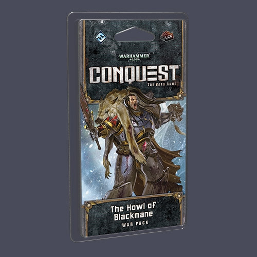 Warhammer 40,000 Conquest: The Cardgame - Warlord 1: The Howl of Blackmane War Pack