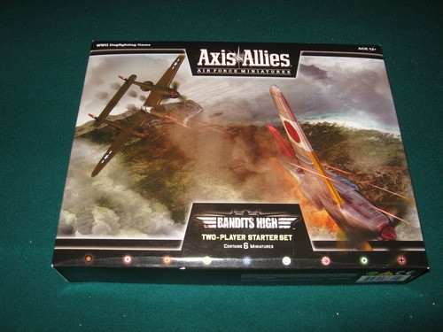 Axis & Allies: Air Force Miniatures - Bandits High Two-Player Starter Set